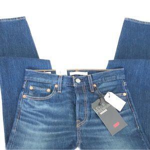 BNWT Levi's Wedgie High Rise Taper Leg Jeans Sz 26